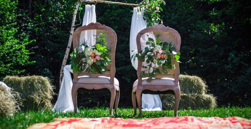 Góralskie wesele w plenerze