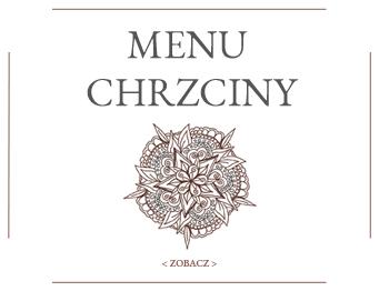 Imprezy Bielsko-Biała_menu chrzciny