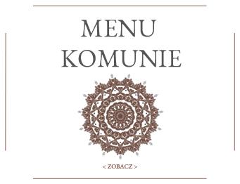 Imprezy Bielsko-Biała_menu komunie