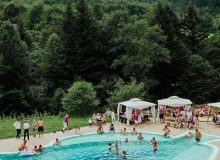 Impreza nad basenem_Gościniec Nałęże