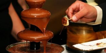 Hostinec Szumny - Naleze - cokoladova fontana